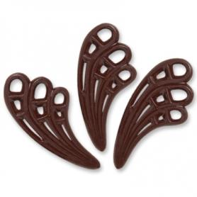 Как сделать шоколадные веера
